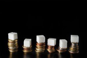 مالیات بر شکر، حبههای قند